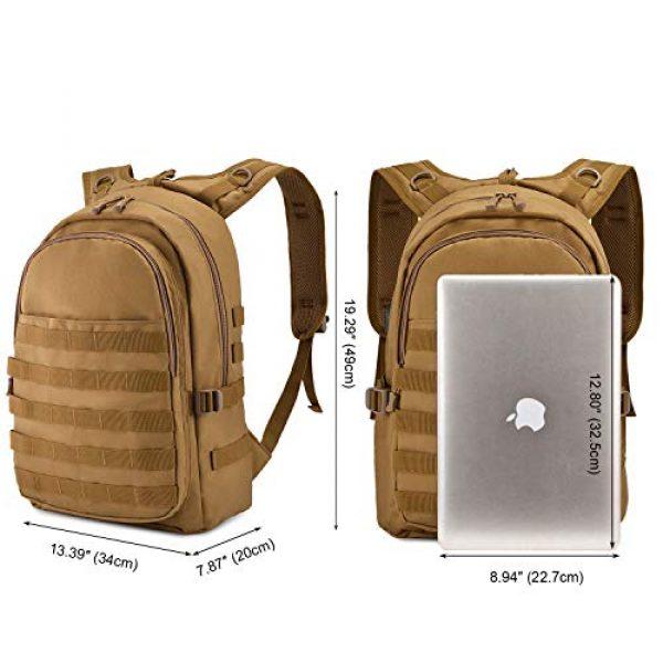 Huntvp Tactical Backpack 2 Huntvp PUBG Backpack Level 3 Tacticalk Laptop Military College Bag