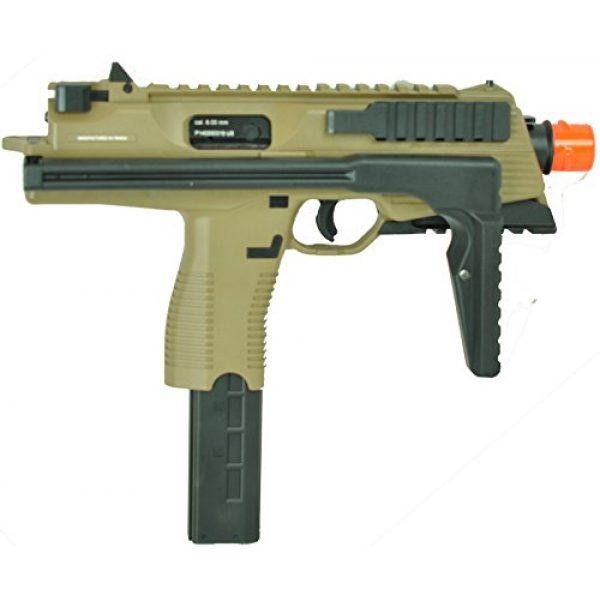 KWA Airsoft Pistol 4 KWA kmp9r ns2 gas blow back airsoft gun dark earth rail version(Airsoft Gun)