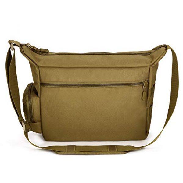 ArcEnCiel Tactical Backpack 2 ArcEnCiel Tactical Messenger Bag Men Military MOLLE Sling Shoulder Pack with Patch