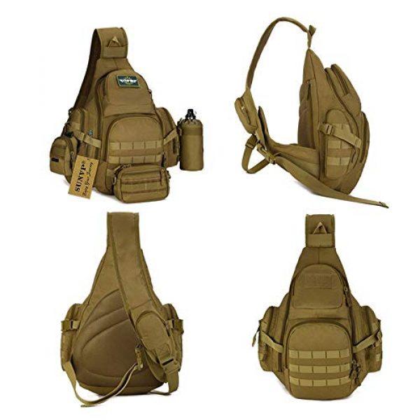 Huntvp Tactical Backpack 3 Huntvp Tactical Sling Backpack Military Daypack Molle Chest Shoulder Bag