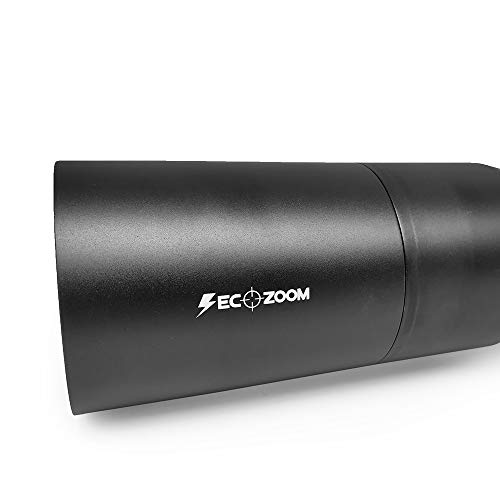 SECOZOOM Rifle Scope 7 SECOZOOM Optics 4-50x75mm New Distance Measuring BOS Reticle Optical Sight Big Wide Field of View Military Riflescope Hunting Tactical Optical Sights .50BMG w 35mm mounts and Sunshade