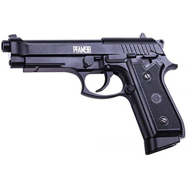 Crosman Air Pistol 3 Crosman PFAM9B CO2-Powered Full Auto Blowback BB Air Pistol,Black