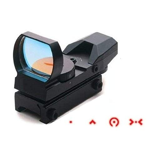 Ultimate Arms Gear Rifle Scope 2 Ultimate Arms Gear Tactical GSG 5 GSG-5 GSG522 German Sport Gun CETME And Clones Submachine Gun Rifle Rail Claw Scope Sight Mount + Reticle Red Extreme Ops Edition Open Reflex Sight