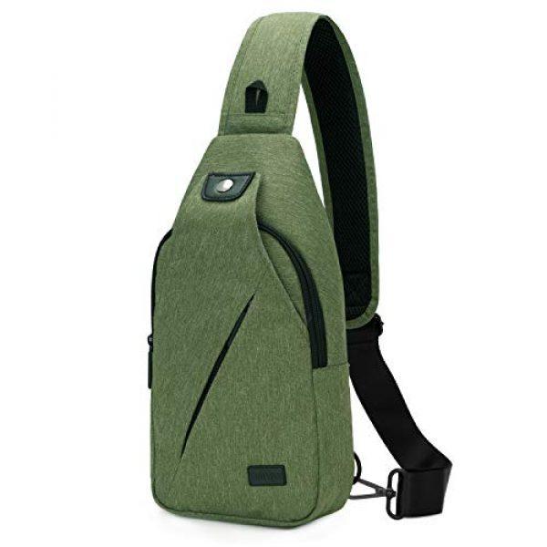 TINYAT Tactical Backpack 1 TINYAT Sling Bag Pack, Chest Shoulder Crossbody Hiking Backpack Sport Bicycle Rucksack School Daypack for Men Women T609
