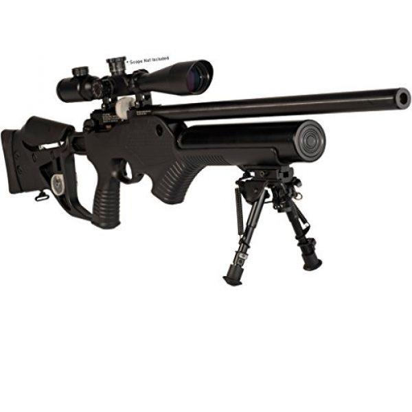Hatsan Air Rifle 3 Hatsan Barrage - Semi Auto PCP Airgun .177 Cal, Black