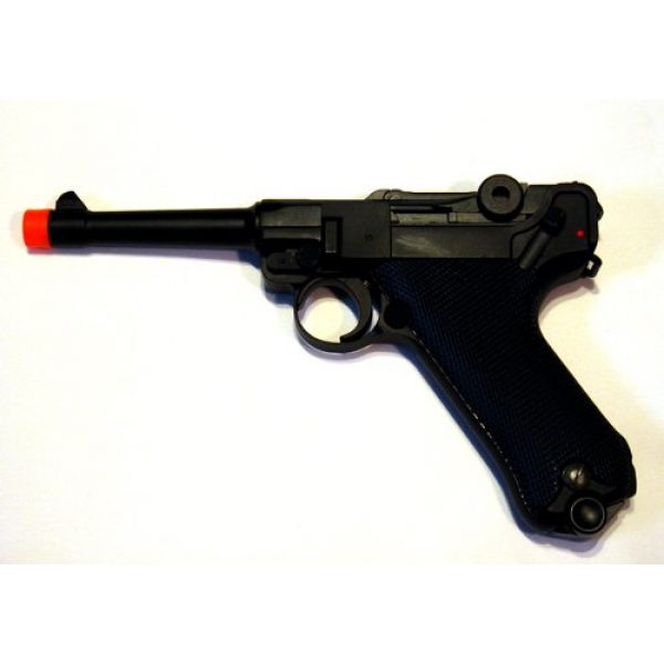WE Airsoft Pistol 1 WE Luger 908SB Gas Blow Back Airsoft Pistol 4 inch Barrel WE-037