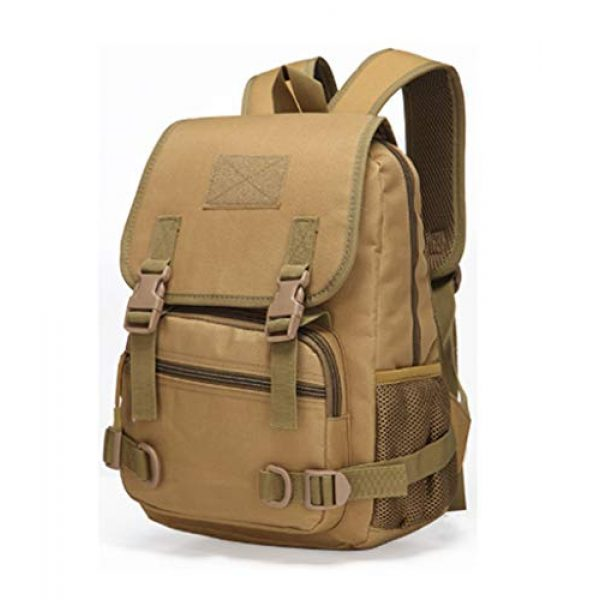 Jipemtra Tactical Backpack 1 Tactical First Aid Bag MOLLE EMT IFAK Backpack Military Emergency (Tan Summer)