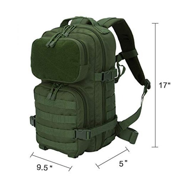 YoKelly Tactical Backpack 6 YoKelly Tactical Backpack Military Army Molle Backpack for Trekking