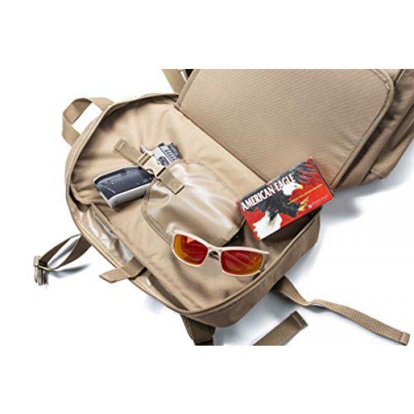HACKETT EQUIPMENT Tactical Backpack 7 HACKETT EQUIPMENT Pistol Range Backpack - Tactical Backpack & Ammo Bag for Multiple Pistols