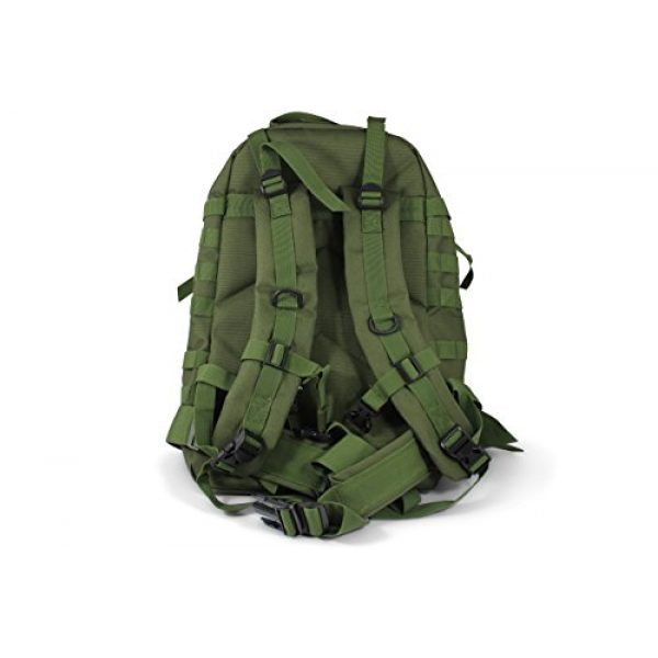 Turtle Creek Gear LLC Tactical Backpack 4 Turtle Creek 50L Hiking Backpack - Durable Tactical Backpack with 1000D Nylon - Water Resistant Camping Backpack - Sturdy Tactical Rucksack for Hunting and Trekking - Military Backpack