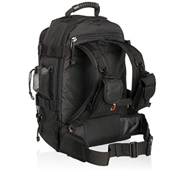 Savage Cut Tactical Backpack 3 Savage Cut Outdoor Expandable 3-Day Survival Tactical Backpack, XL Capacity