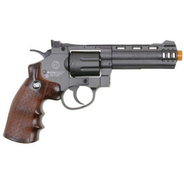 WinGun Airsoft Pistol 2 WG co2 powered air soft non blowback revolver airsoft pistol 4 barrel gun(Airsoft Gun)