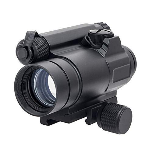 Fashion Sport Rifle Scope 1 Fashion Sport Tactical M4 1x32 Sight red/Green dot Sight Scope 2 MOA for Rifle air Guns Shooting Hunting with Raise Mount Base