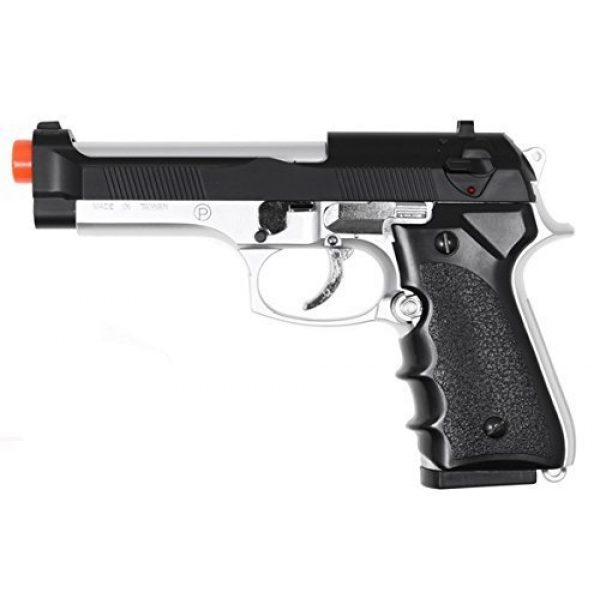 HFC Airsoft Pistol 1 HFC model-118ebs m9 elite heavy weight spring pistol / dual tone by hfc(Airsoft Gun)