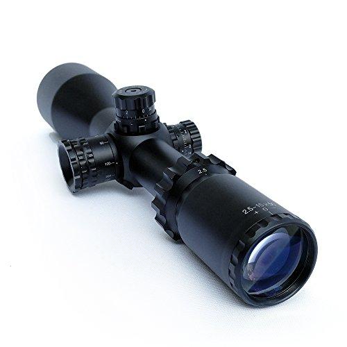SECOZOOM Rifle Scope 4 SECOZOOM Highest Repeatability Scope Turrets Knobs 2.5-15x50 Riflescope with Customized Reticle FFP Optical Sight