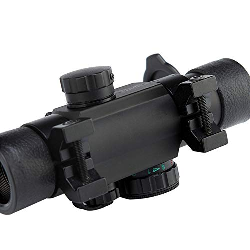 DJym Rifle Scope 3 DJym Non-Magnification Speed Sight Mirror HD Red Dot Aiming Blue Film Shockproof Waterproof Inner Red Dot Sight