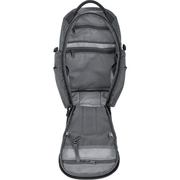 Maxpedition Tactical Backpack 3 Maxpedition Entity 16 CCW-Enabled EDC Sling Pack 16L for Covert Concealed Carry, Charcoal