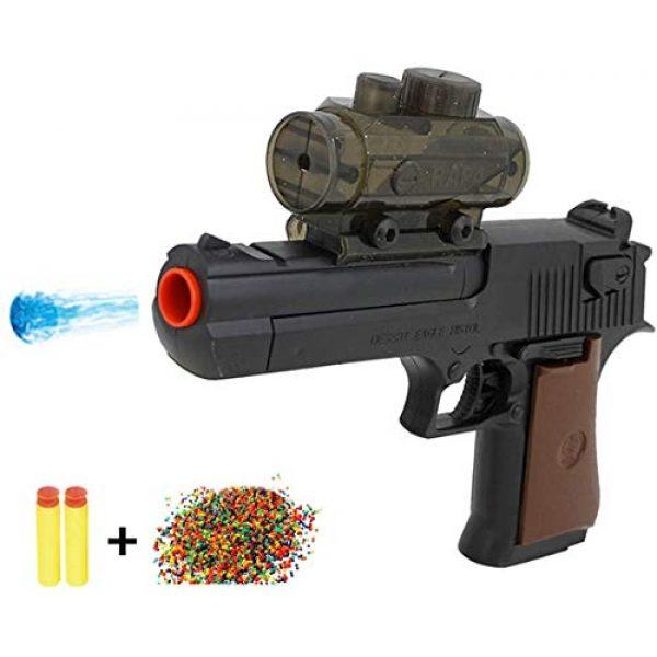 BCHENG Airsoft Pistol 3 Desert Eagle Foam Battle Guns Toy Water Guns Water Blaster Multipurpose Toy Guns Fill with Water Beads Foam Darts Toy Blaster Guns for Kids Boys Adult+10000 Crystal Bullet