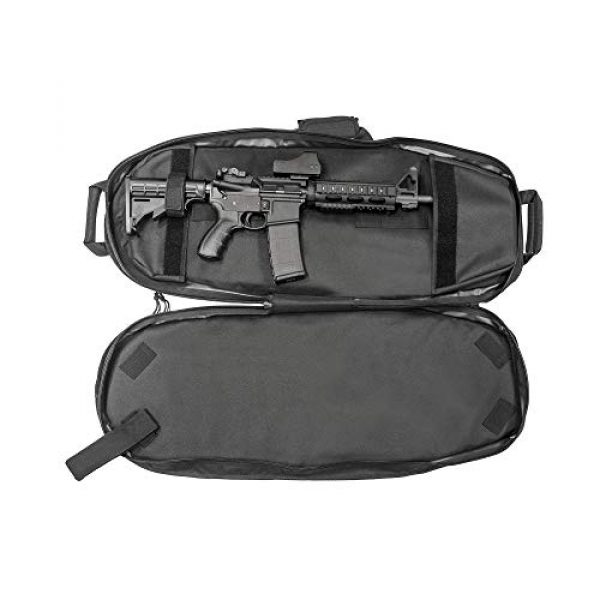 "UTG Tactical Backpack 7 UTG 34"" Alpha Battle Carrier Rapid Deployment Pack, Black (PVC-PSP34B)"