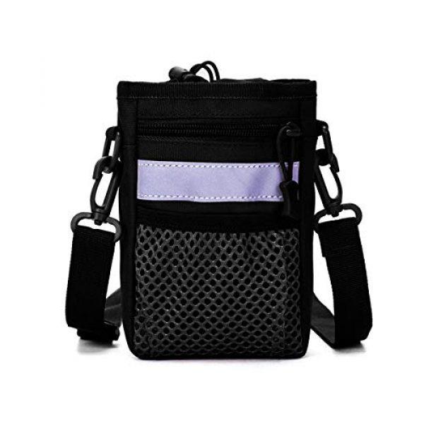 BraveHawk OUTDOORS Tactical Backpack 1 BraveHawk OUTDOORS Shoulder Messenger Bag Bottle Holder Pouch, 800D Military Nylon Oxford EDC Phone Holder Small Crossbody Pack
