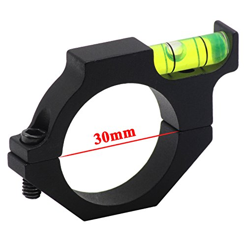 FirstE Rifle Scope Level 1 FirstEOptics Rifle Scope Bubble Level Spirit Level for 25.4mm 1 Inch 30mm Riflescope Laser Sight Tube Ring