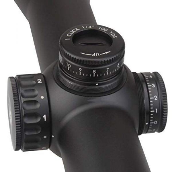 Vector Optics Rifle Scope 5 Vector Optics Continental 2-12x50 1/4 MOA 30mm Tube Second Focal Plane (SFP) Riflescope