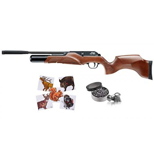 Wearable4U Air Rifle 1 Wearable4U Umarex Walther Rotek PCP Air Rifle Bolt Action with 100ct Paper Targets Lead Pellets Bundle