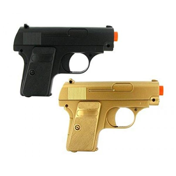 BBTac Airsoft Pistol 1 double eagle twin p328 spring pocket pistols airsoft guns(Airsoft Gun)