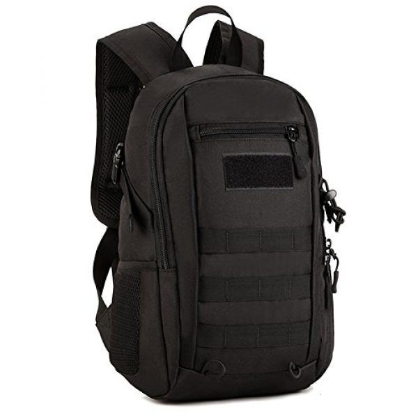 CREATOR Tactical Backpack 1 12L Tactical Backpack MOLLE Military Daypack Travel Bag for Hunting
