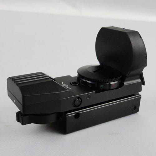 TACBRO Rifle Scope 2 Maxsports Tactical Rifle Shotgun Pistol Red&Green Illuminated 4 Reticles Red Dot Sight