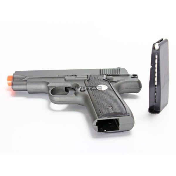 BBTac Airsoft Pistol 7 bbtac bt-g2 full metal slide body sub compact 240 fps spring airsoft gun and tactical skeleton hammer(Airsoft Gun)