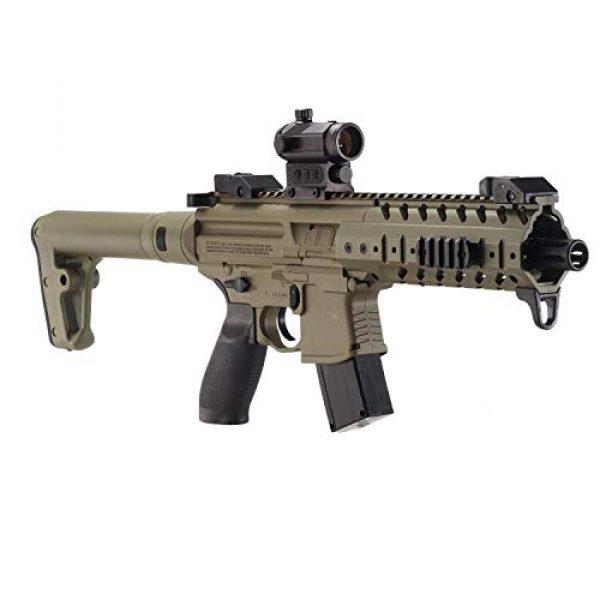 Sig Sauer Air Rifle 1 Sig Sauer MPX .177 Cal CO2 Powered SIG20R Red Dot Air Rifle 30 Rounds, Flat Dark Earth, One Size