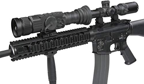 AGM Global Vision Rifle Scope 6 AGM 3093456006AN51 Model Anaconda TC50-384 Medium Range Thermal Imaging Clip-On System, 336x256 (60 Hz) Resolution, 50mm Lens, 1x Optical Magnification, Field of View 7.8°x5.9°