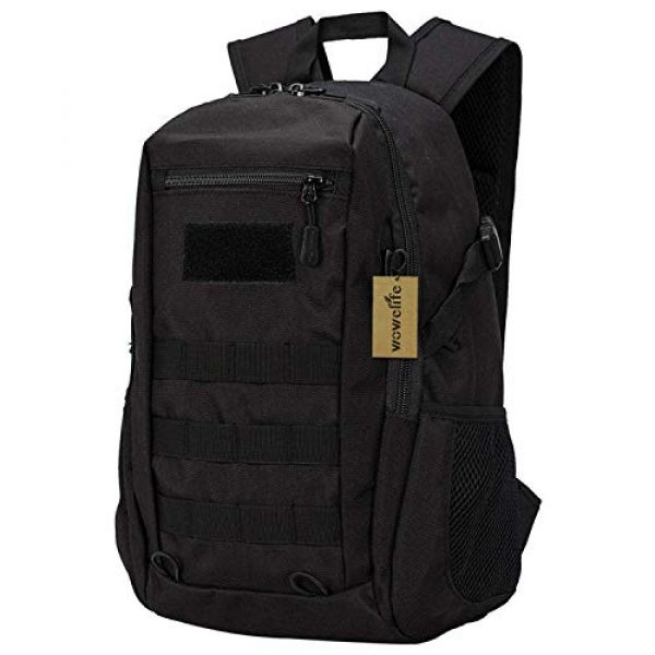 Wowelife Tactical Backpack 1 Wowelife Mini Tactical Backpack 10L Small Military Day Pack School Bag for Hunting Camping Trekking Travel
