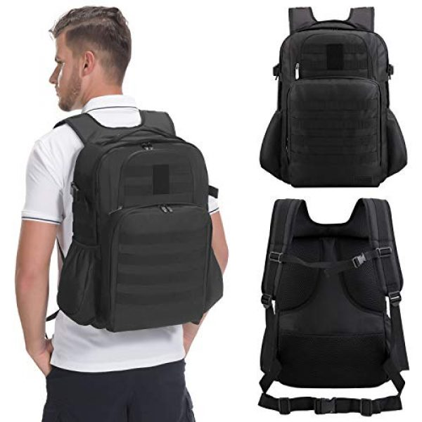 TAIBID Tactical Backpack 7 TAIBID Military Tactical Backpack Water Resistant Large Army 3 Day Assault Pack Outdoors