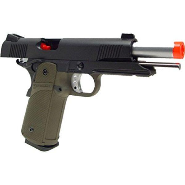KJW Airsoft Pistol 5 gbb-615g - KJW full metal semi auto gas blowback pistol with free target trip tent(Airsoft Gun)