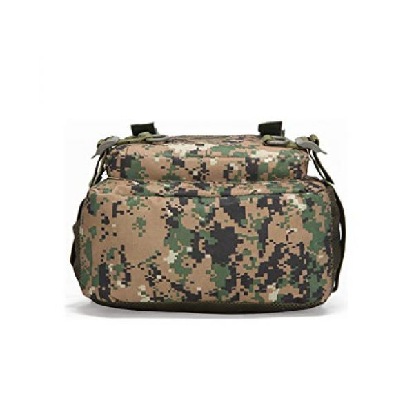 Jipemtra Tactical Backpack 4 Tactical First Aid Bag MOLLE EMT IFAK Backpack Military Emergency (Tan Summer)