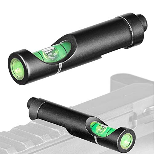 Higoo Rifle Scope Level 1 Higoo Bubble Level for 20mm Picatinny Waver Rail Rifle Scope