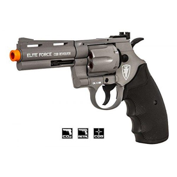 "Elite Force Airsoft Pistol 1 Elite Force Umarex 4"" CQB Revolver Pistol Airsoft Gun"