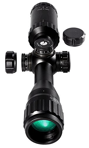 Barra Rifle Scope 7 Barra BDC Reticle Capped Turrets for Hunting and Tactical Shooting