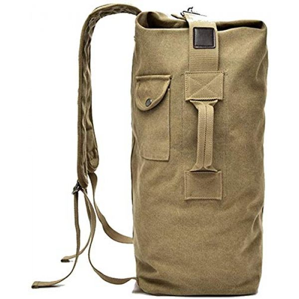 MilSurplus Tactical Backpack 3 Multifunctional Military Tactical Style Canvas Backpack, Outdoor Sports Gym Bag, Men Hiking Camping Backpack