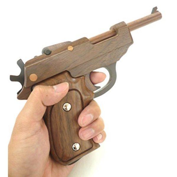 Sasaki Kougei Rubber Band Pistol Walther P38 3 Handcrafted Rubber band Gun Grasp GRASP Walther P38