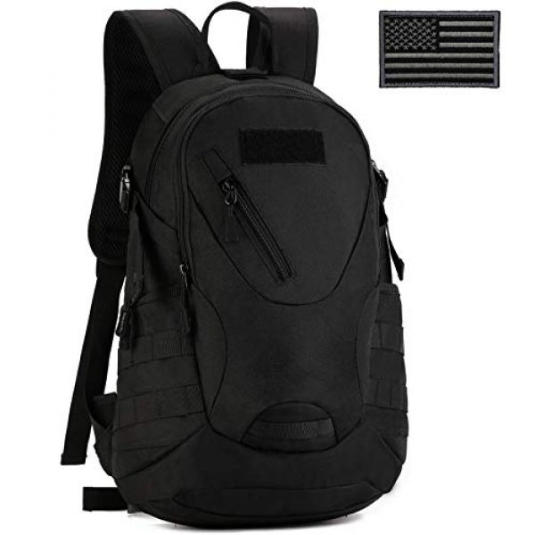 ArcEnCiel Tactical Backpack 1 ArcEnCiel Motorcycle Backpack Tactical Military Bag Army Assault Pack with Patch