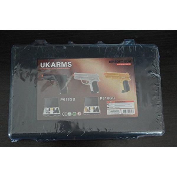 CYMA Airsoft Pistol 2 p.618 (2) air sport guns with black carrying case(Airsoft Gun)