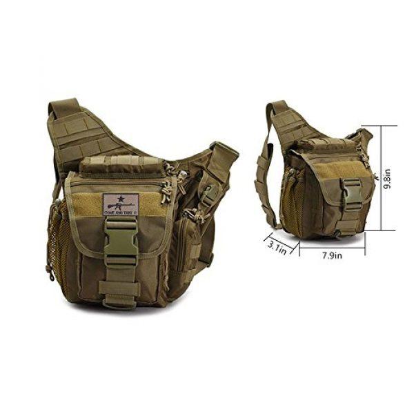 Klau Tactical Backpack 2 Klau Outdoor Sport Military Women and Men's Multi-Functional Tactical Messenger Shoulder Bag