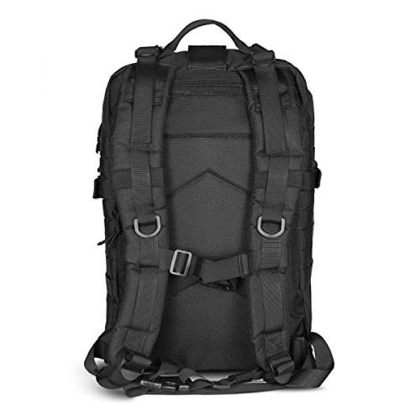 LeisonTac Tactical Backpack 3 LeisonTac 42L Tactical Backpack Military ISO Standard with Hydration Bladder Compartment