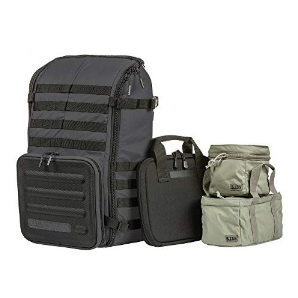 5.11 Tactical Backpack 1 5.11 Tactical Range Master Firearm & Shooting Gear Backpack 4-Piece Set, 33L, Style 56496