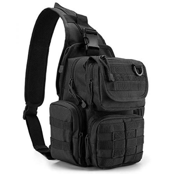 G4Free Tactical Backpack 2 G4Free Tactical Sling Backpack for Every Day Carry