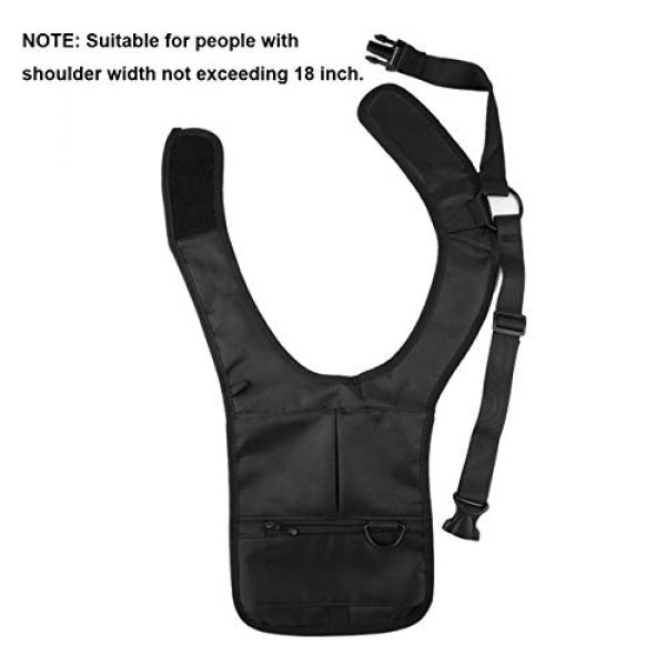 ECYC Tactical Backpack 2 ECYC Men Security Holster Strap Messenger Bags Underarm Shoulder Bag Burglar Phone Pouch Tactical Bag