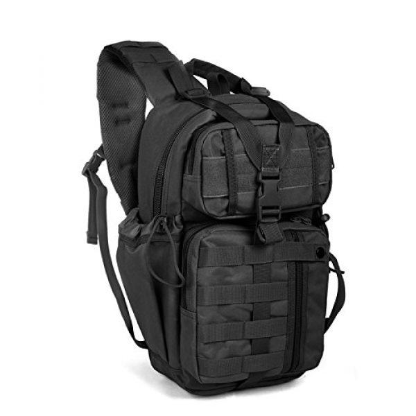 ABENAKI Tactical Backpack 1 ABENAKI Tactical Sling Bag Pack Military Rover Shoulder Backpack Bowmen Bag